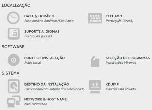 Configurações do CentOS 7