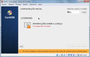 Licença CentOS 7